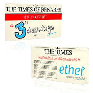 Ether Website Launch Social Media Post Design