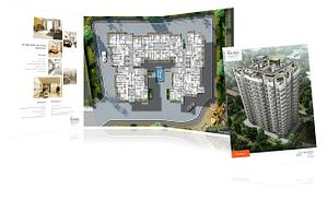 SDS Raheja Realty Brochure Design