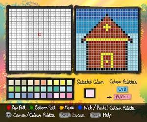 UI Design for IPTV Paintbook App for Children