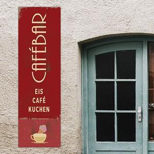 CaféBar Schild Design Mainz