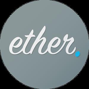 Ether Round Profile Logo