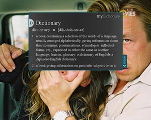 UX/UI Design for IPTV – Dictionary Widget