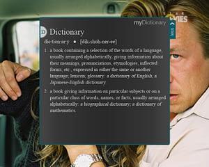 UX/UI Design for IPTV – Dictionary Widget More View