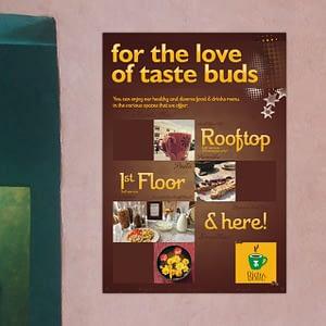 ITH Bistro Poster Design Varanasi