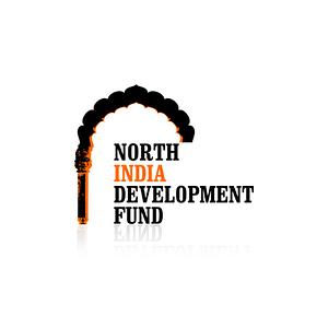 North India Development Fund NGO Logo Design Varanasi USA
