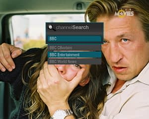UX/UI Design for IPTV – Channel Search Widget List View 2