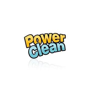 Power Clean Logo Design Varanasi