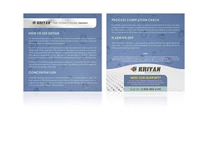 Krishna Rasayan Udyog KRIYAN Descaling Chemical User Manual Design Varanasi